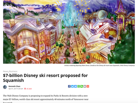 $7-billion Disney ski resort proposed for Squamish