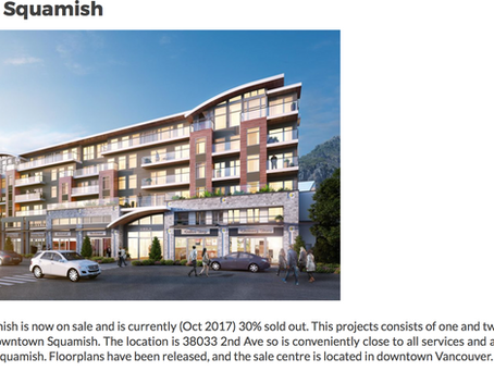 MOVE TO SQUAMISH! Amaji, Squamish Development