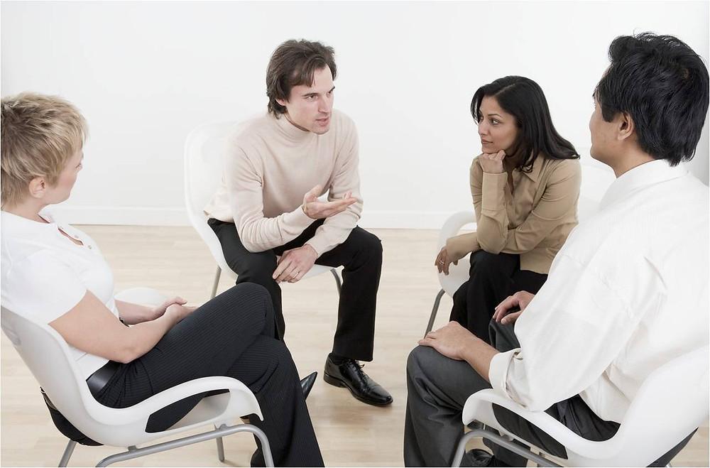 психотерапия, зачем нужна, группа, люди,