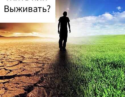 Жить или Выживать?