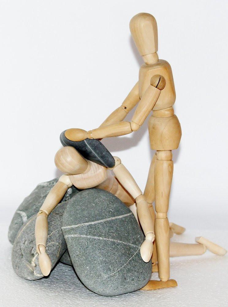 обесценивание, образ жизни, панацея от обесценивания, человечки, камни, подавление, рекомендации, самооценка,