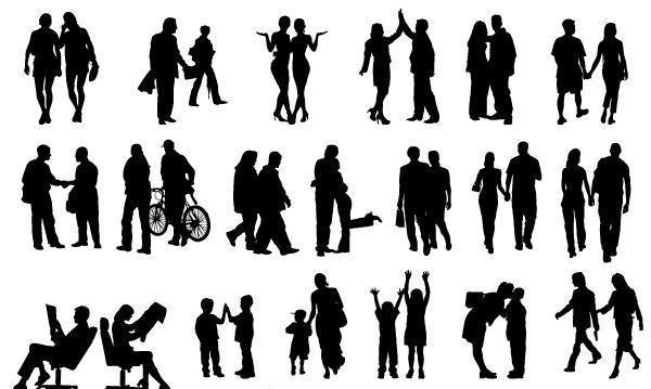 силуэты людей, работа психолога, быть в паре, быть вместе, в паре, вместе, искусство, отзыв, взаимоотношения, взаимодействие, отношения