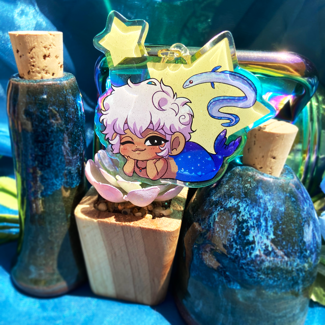 Seal Life of the Star's Realm Asra Charm
