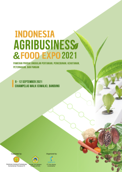 Indonesia Agribusinees & Food Expo 2021 Cihampelas Walk (Ciwalk) Bandung - FERACO