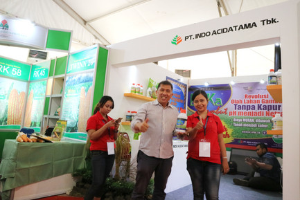 Indo Acidatama di Pameran Hari Pangan Sedunia 2018.