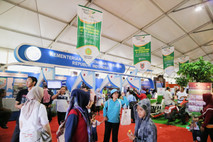 Kementerian Kelautan dan Perikanan pada Pameran Hari Pangan Sedunia 2018.