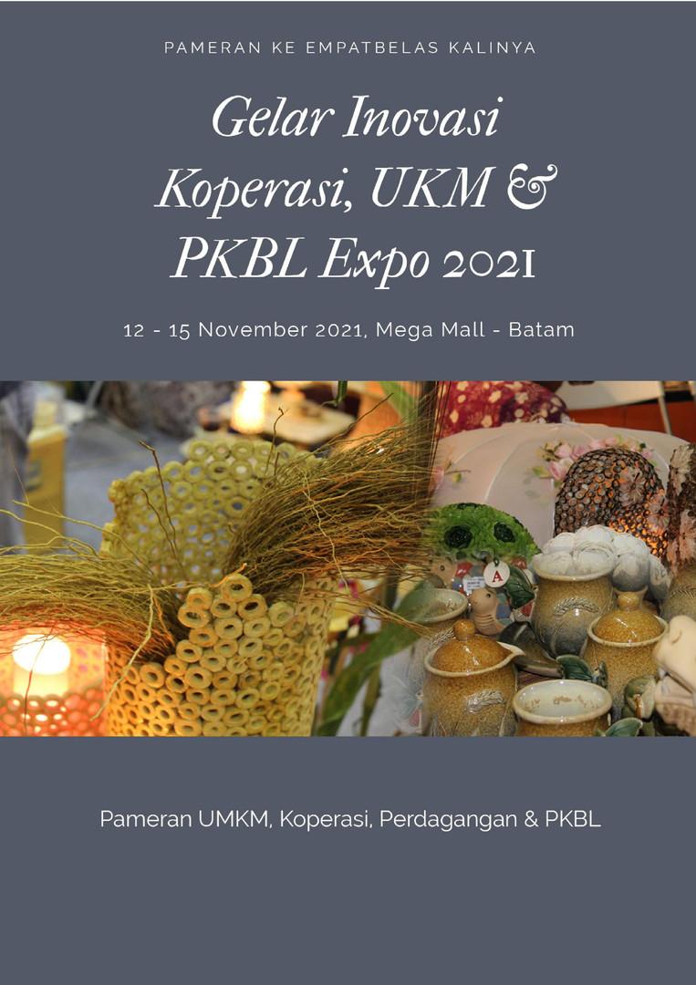 Gelar UKM, Koperasi & PKBL 2021 Batam - Feraco
