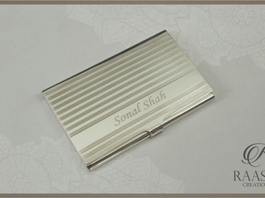 Engraved Business Cards Case