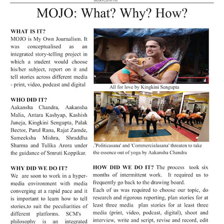 What is MOJO
