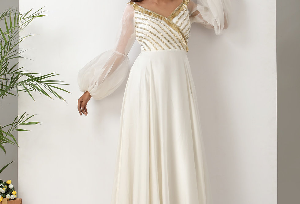 OFF WHITE GOWN