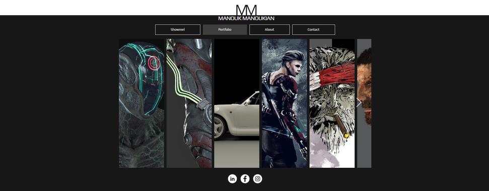 Manouk Manoukian Character & Concept Art