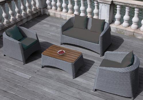 Biarritz Piece Luxury Pe Rattan Garden Furniture Set The