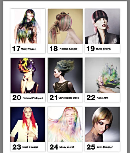 Finalist at #oneshot @Behindthechair.com  Category CREATIVE COLOR photo nr 19