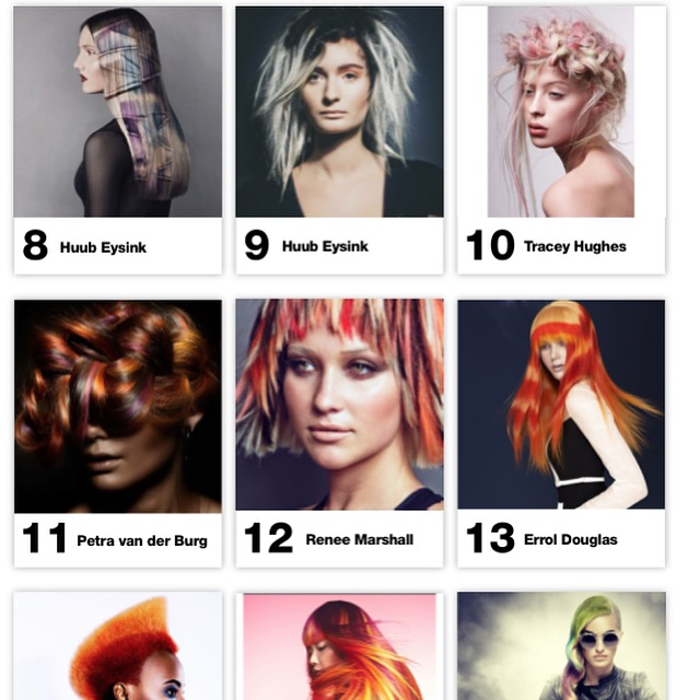 Finalist at #oneshot @Behindthechair.com  Category CREATIVE COLOR nr 8 & 10