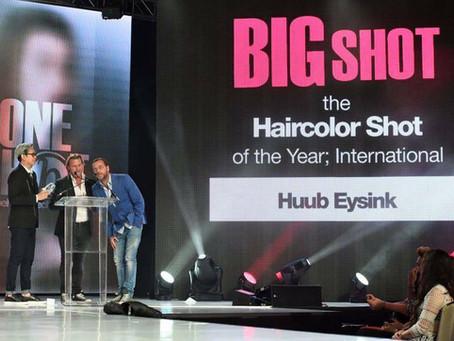 Huub Eysink wint Haircolor Shot of the year