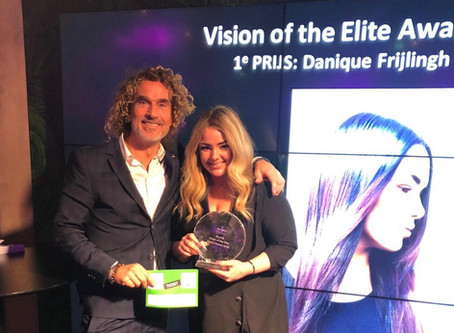 Winnaar Intercoiffure Vision of the Elite Award 2018