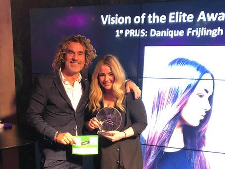 Winnaar Intercoiffure Vision of the Elite Award 2018