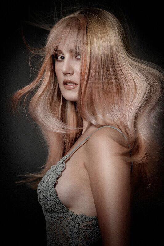 Hair : Sherena Ligtmans Photo: Richard Monsieur Make Up : Lydia Than Done with Davines the imprinter