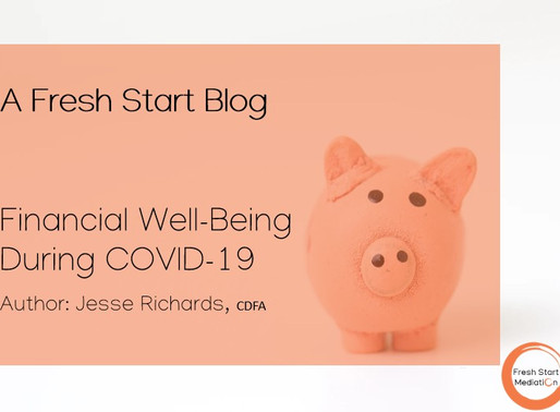Financial Well-being During Covid-19