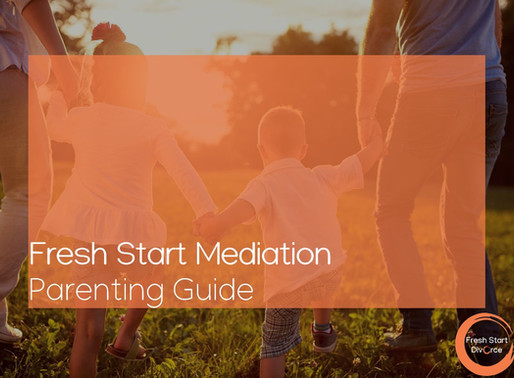 Creating Your Parenting Plan - A Guide