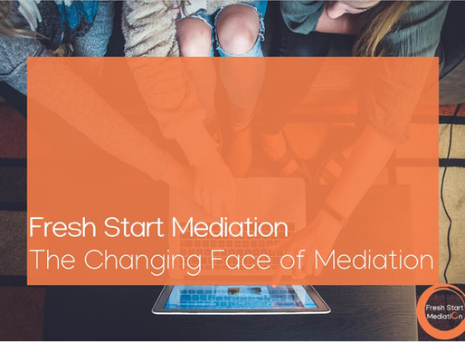 The Changing Face of Mediation