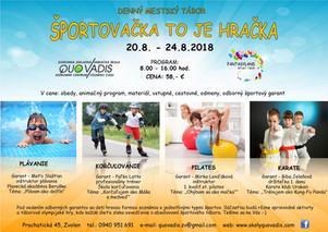 Denný letný športový tábor