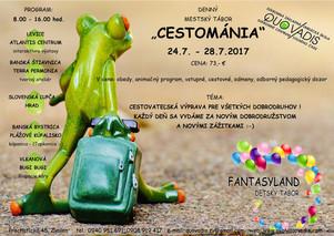 Cestománia 24.7. - 28.7.2017
