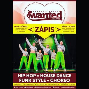 Krúžok - Hip-Hop (Tanečná škola WANTED)