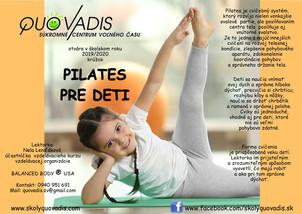 Krúžok Pilates pre deti