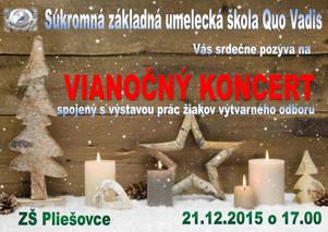 Vianočný koncert v Pliešovciach