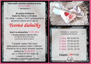 Valentínske dielničky v Krajskej knižnici Ľ. Štúra