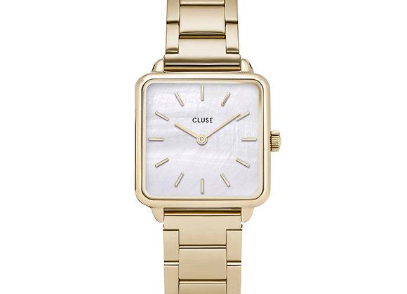 Reloj 28,5 mm - CL60026S  La Tétragone Steel White Pearl, Gold