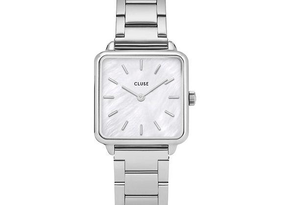 Reloj 28,5 mm - CL60025S  La Tétragone Steel White Pearl, Silver