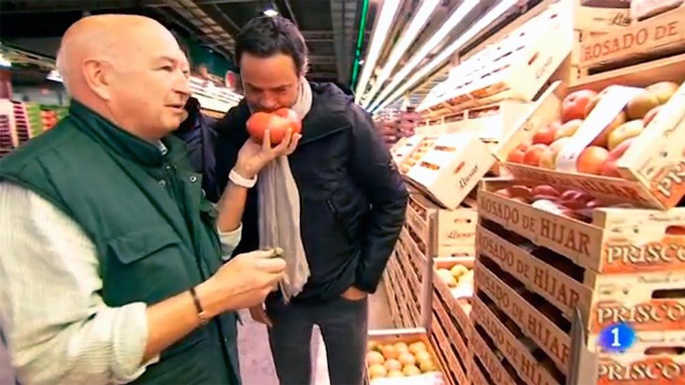 Tomates prisco tomate rosa de Hijar en Tv Española