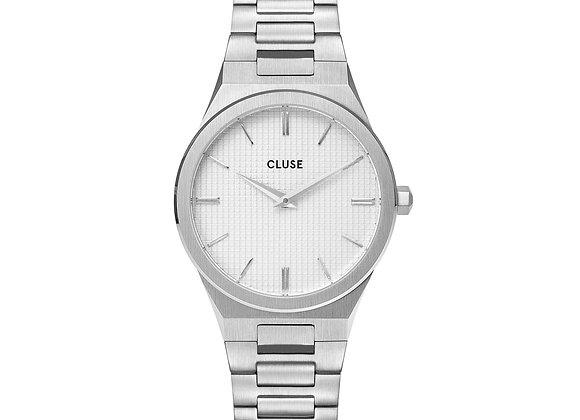Reloj mujer Cluse 33 mm - CW0101210003  Vigoureux Steel White