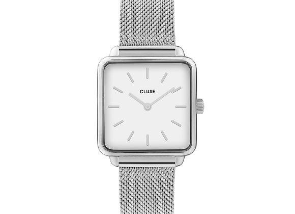Reloj 28,5 mm - CW0101207003  La Tétragone Mesh White, Silver