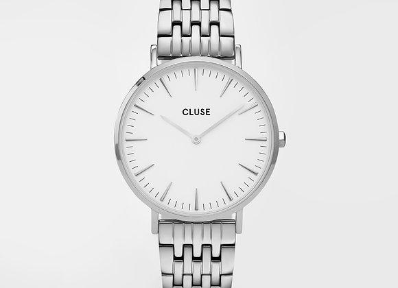 Reloj Cluse 38 mm - CW0101201023  Boho Chic Steel White, Silver Colour