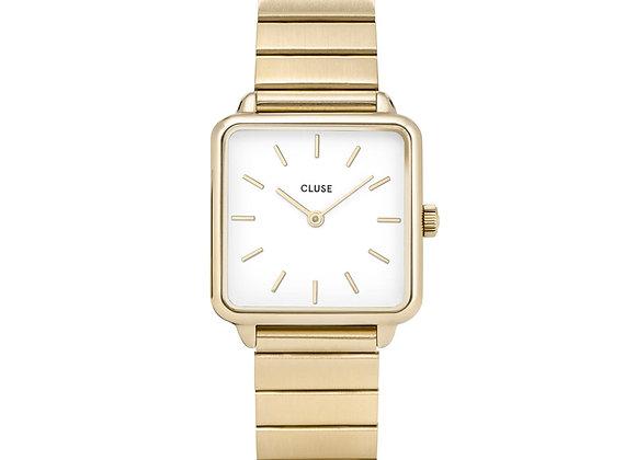 Reloj 28,5 mm - CL60023S  La Tétragone Steel White, Gold