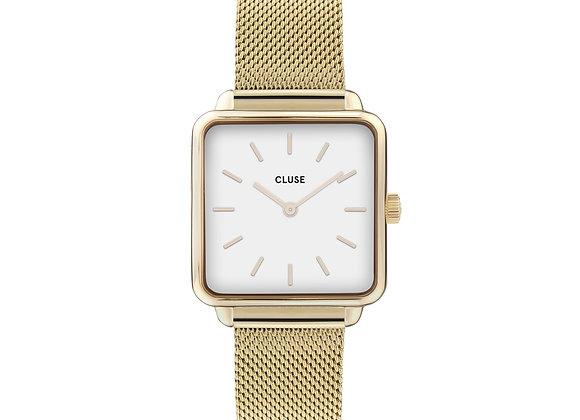 Reloj 28,5 mm - CW0101207002  La Tétragone Mesh White, Gold
