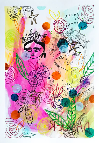 Art print - Frida et pourquoi pas