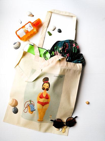 Tote bag - Summer body