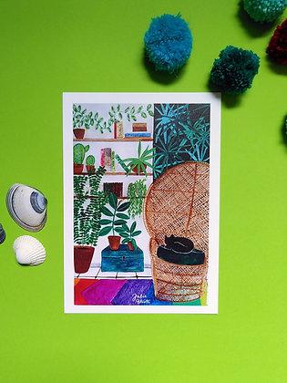Le salon - Art print