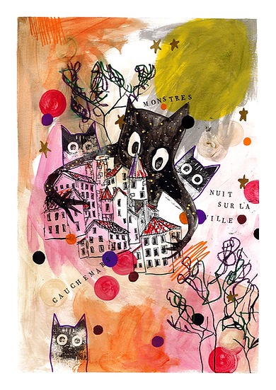 Art print - Cauchemars