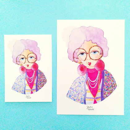 Art Print - Grand mère Yetta