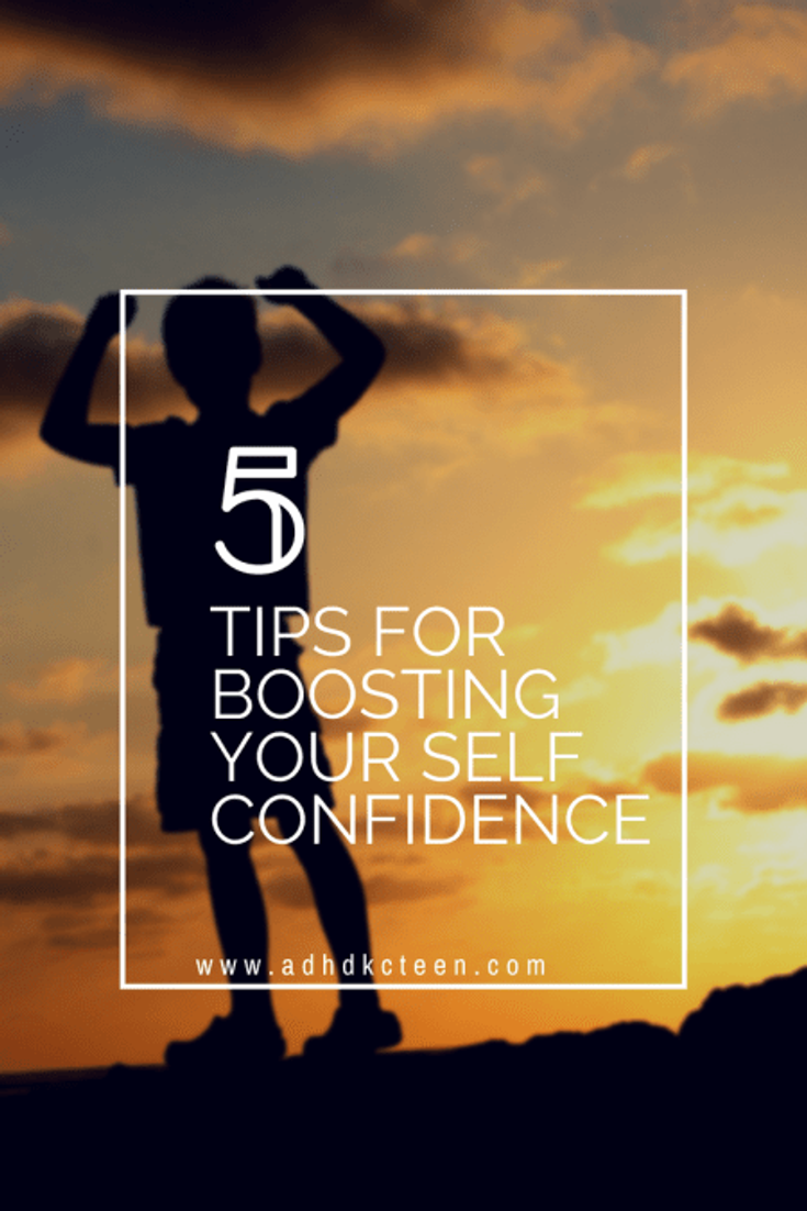 5 tips for boosting your self confidence