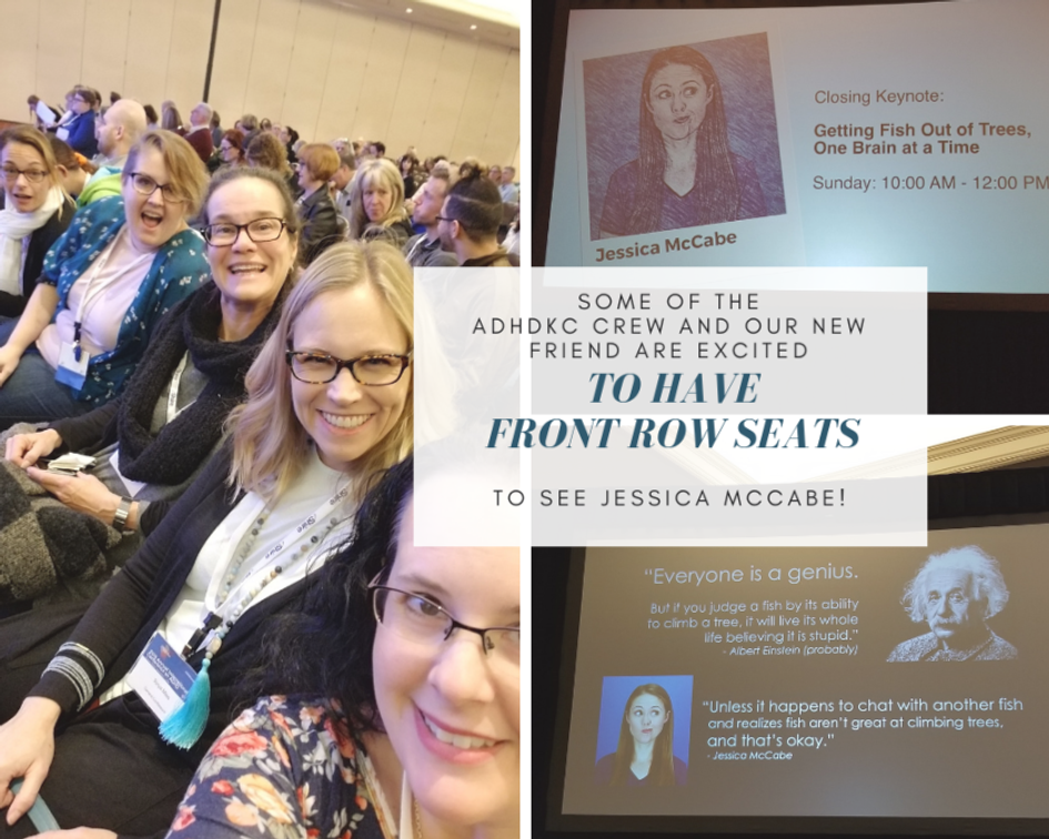 I was excited to be able to see How to ADHD's Jessica McCabe as the final keynote speaker.