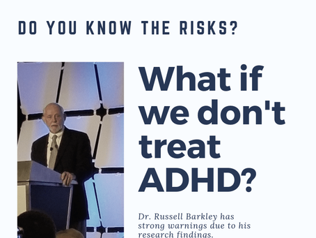 What if we don't treat ADHD?