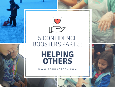 5 Self Confidence Boosters Part 5: Helping Others