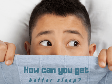 How can you get better sleep?