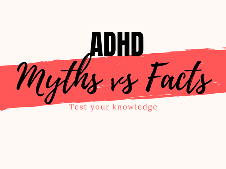 ADHD Myths vs Facts